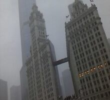 Fog in the windy city by geekfreak79