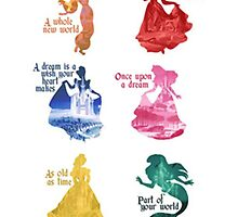 Disney Princesses Quotes by deborahrichard