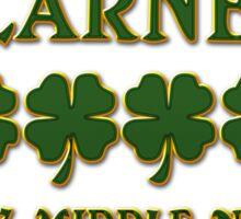 Irish Blarney Sticker