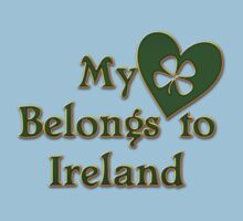 My Heart Belongs To Ireland One Piece - Short Sleeve
