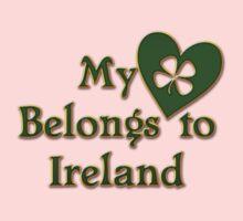 My Heart Belongs To Ireland Baby Tee