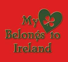 My Heart Belongs To Ireland Kids Clothes