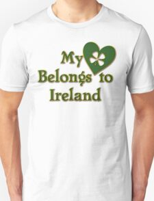 My Heart Belongs To Ireland T-Shirt