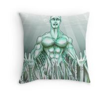 Mechanical Sea Throw Pillow