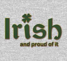 Irish And Proud Of It One Piece - Short Sleeve