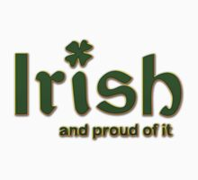 Irish And Proud Of It One Piece - Short Sleeve