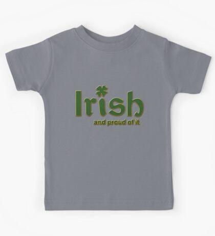 Irish And Proud Of It Kids Tee