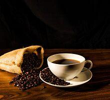 Morning Coffee by Karen  Burgess