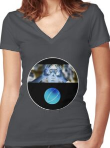 3 Goggles Women's Fitted V-Neck T-Shirt