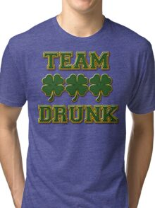 Irish Drinking Tri-blend T-Shirt