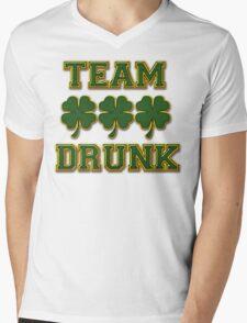 Irish Drinking Mens V-Neck T-Shirt