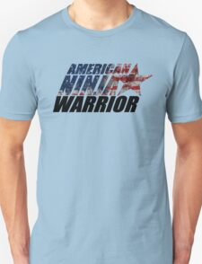 AMERICAN NINJA WARRIOR logo  T-Shirt