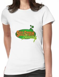 Soul storm logo Womens Fitted T-Shirt