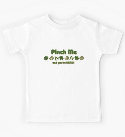 Pinch Me Irish Kids Tee