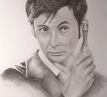 David Tennant from Doctor Who by Dominic LaBonia