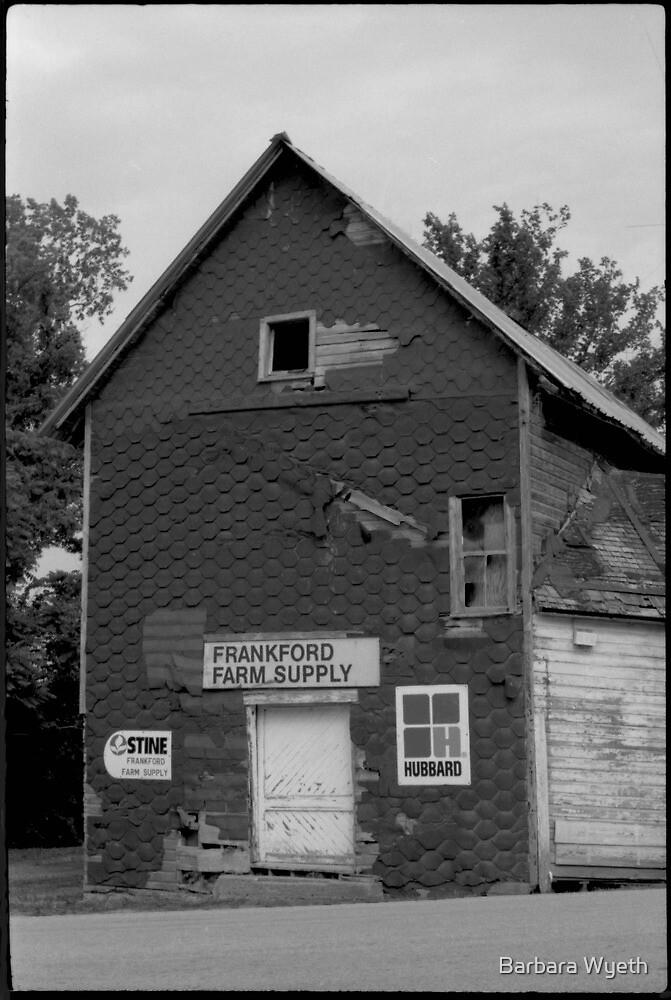 Old Building in Missouri by Barbara Wyeth
