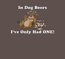 In Dog Beers (Brown) Unisex T-Shirt