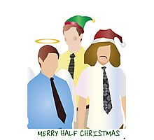 Merry Half Christmas Photographic Print