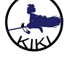 Kiki's Delivery Service Logo 2 by littlegreenhat