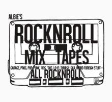 Cassette Tape by April Nash by AlbieRocknroll