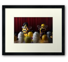 A Buzz Buzz Framed Print