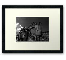 ©MS Tlalpujahua Portal IIA Monochromatic Framed Print