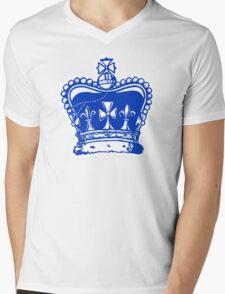 Crown Jewels White Outline Mens V-Neck T-Shirt