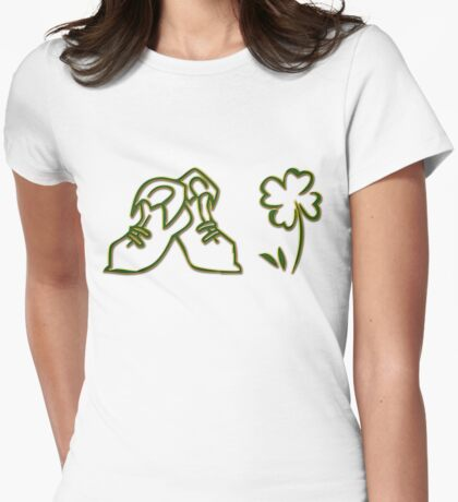 Irish Dancer Womens Fitted T-Shirt