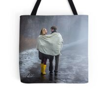 Lovers in the Mist Tote Bag