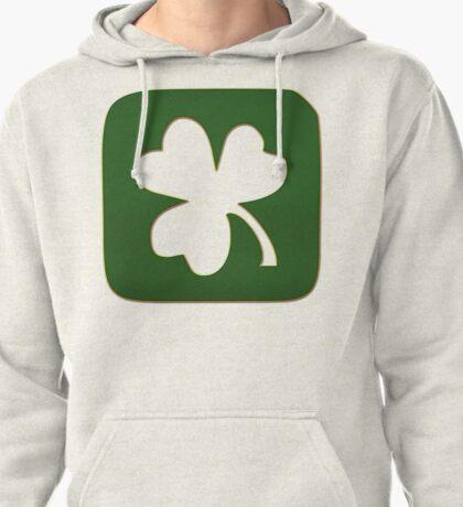Irish Shamrock Pullover Hoodie