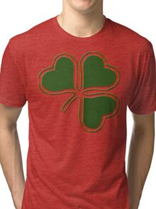 Irish Shamrock Tri-blend T-Shirt