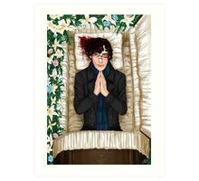 Sherlock Casket Art Print
