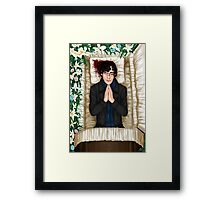 Sherlock Casket Framed Print