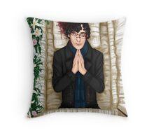 Sherlock Casket Throw Pillow