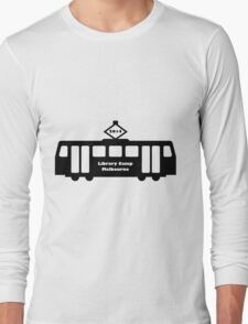 Library Camp 2014 - Melbourne (Black) Long Sleeve T-Shirt