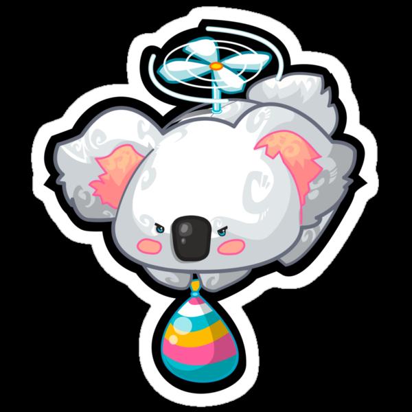 Flying Koala by mechbunnies
