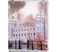 Salt Lake Temple Winter Gate iPad Case/Skin
