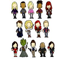 Doctors Companions and Friends V.2 by Bantambb
