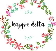 Kappa Delta Wreath by SLEV