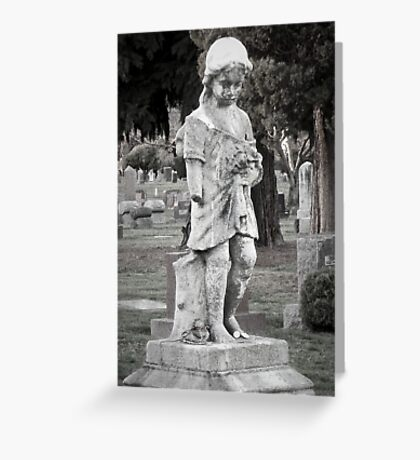 Sweet Childs Grave Greeting Card