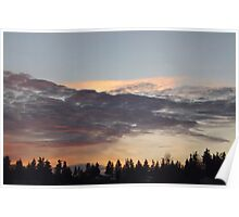 Sequim Sunset  Poster