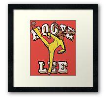 Moose Lee Framed Print
