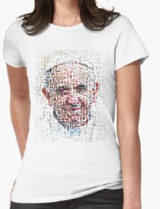 Pope Francis Instant Icon Womens Fitted T-Shirt