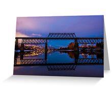 The Red Bridge Greeting Card