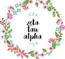 Zeta Tau Alpha Wreath by SLEV