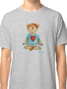 Marion live love yoga bear Classic T-Shirt