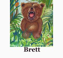 Brett live love yoga bear Unisex T-Shirt