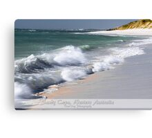 Sandy Cape, Western Australia Canvas Print