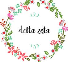 Delta Zeta Wreath by SLEV