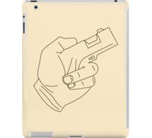 Hand Gun iPad Case/Skin